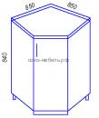 Кухня Тиса НУ850 Стол угловой