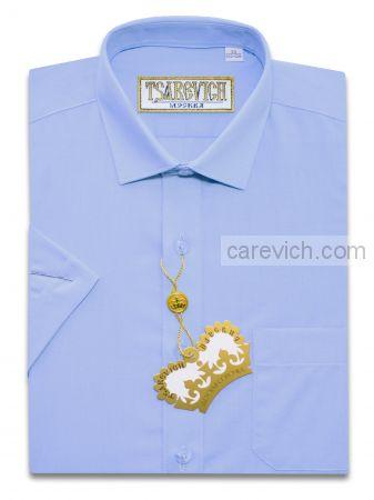 Сорочка детская Tsarevich (6-14 лет) выбор по размерам арт.Cashmere Blue-k Короткий рукав