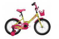 Детский велосипед Novatrack Twist 12 (2020) Салатовый (140634)