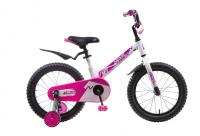 Детский велосипед Novatrack Blast 16 (2019) Белый-фуксия (135364)