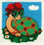 """""""Klart"""" набор для вышивания 012-7 """"Черепаха"""""""
