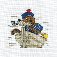 """""""Klart"""" набор для вышивания 6-069 """"Пес морячок"""""""