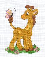 """""""Klart"""" набор для вышивания 8-004 """"Жирафик"""""""