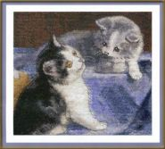 """""""Klart"""" набор для вышивания 8-036 """"Друзья-котята"""