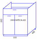 Модульная кухня Эра M800