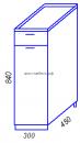 Модульная кухня Эра H300-1Я