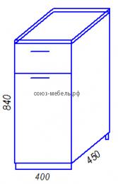 Модульная кухня Эра H400-1Я