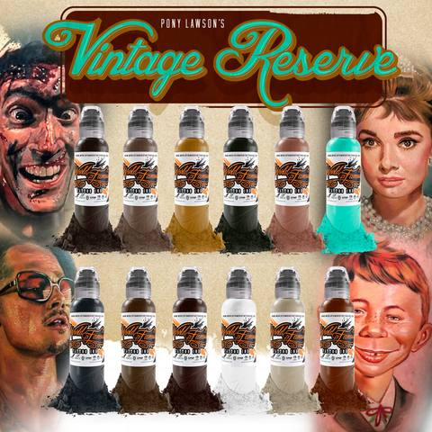 World Famous Ink PONY LAWSON - VINTAGE RESERVE