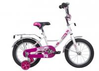 Детский велосипед Novatrack Urban 14 (2019) Белый (133898)