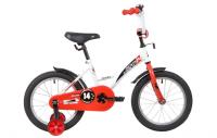 Детский велосипед Novatrack Strike 14 (2020) Белый-красный (139626)
