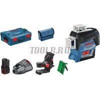 Bosch GLL 3-80 C + BM 1 + GBA 12V + L-Boxx - Лазерный уровень фото