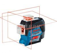 BOSCH GLL 3-80 C + BM 1 + GBA 12V + LR 7 - Лазерный уровень