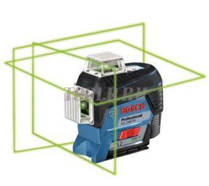 Bosch GLL 3-80 CG + BM 1 + GBA 12V + L-Boxx - Лазерный уровень