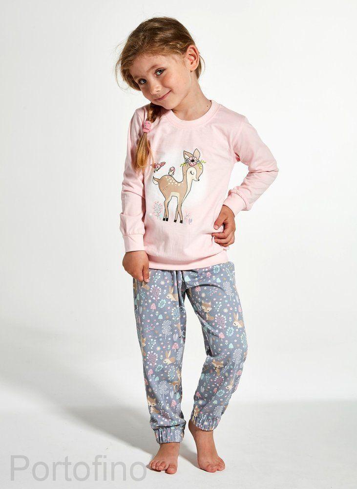 594-122 Пижама для девочек Cornette