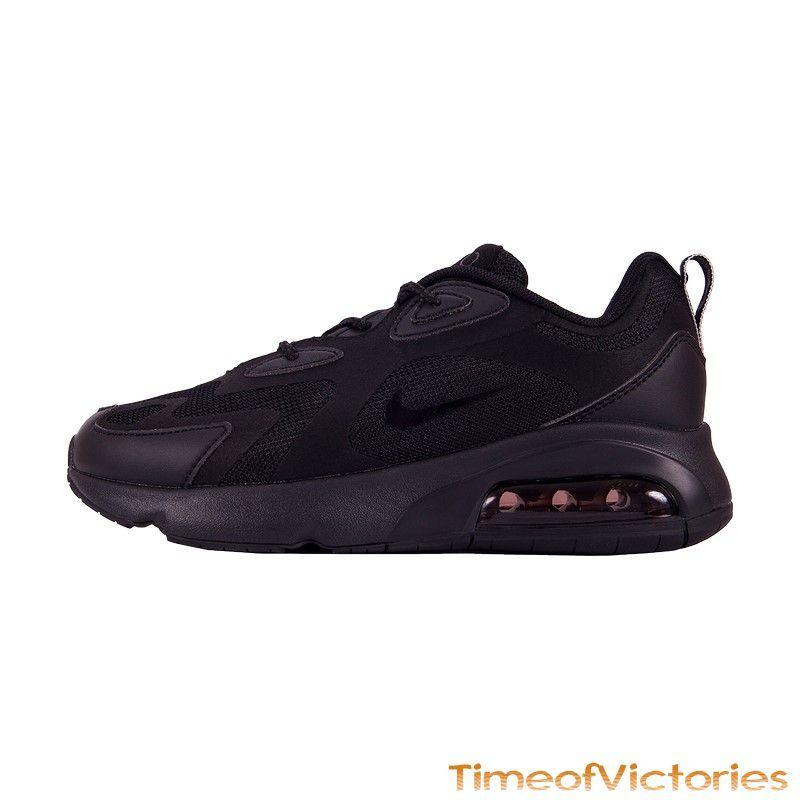 Кроссовки черные Nike Air Max 200