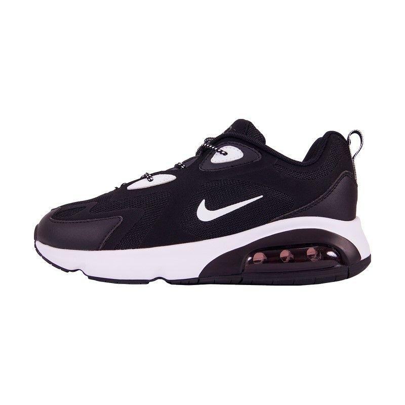 Кроссовки Nike Air Max 200 черно-белые