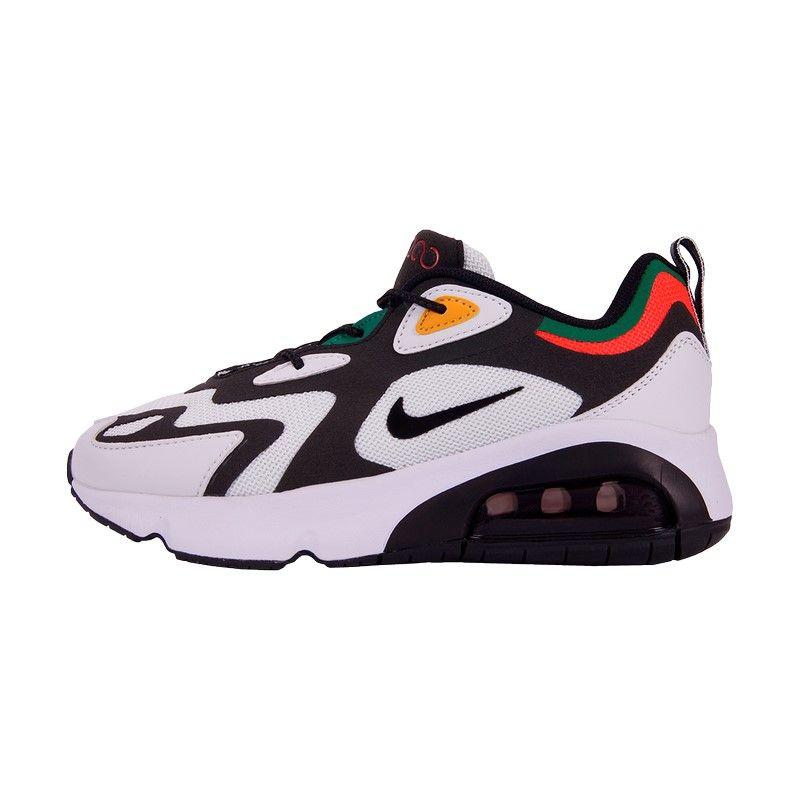 Кроссовки Nike Air Max 200 бело-черные