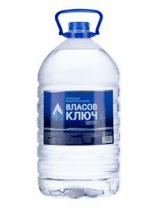 Природная минеральная столовая вода Власов ключ 5л. негаз. пэт (1 уп./2 бут.)