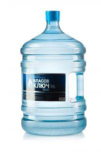 Природная минеральная столовая вода Власов ключ 19 л. негаз. ПК