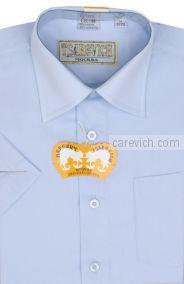 "Детская рубашка школьная,    ""ЦАРЕВИЧ"", оптом 8 шт., артикул: Dream Blue-K"