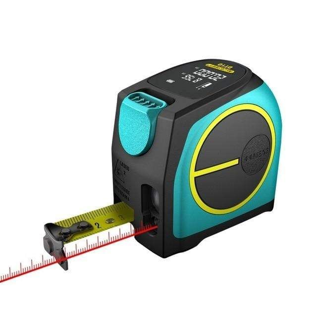 Лазерная рулетка Xiaomi Measuring Laser Ranging Tape Measure Blue