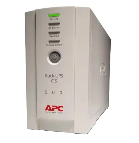 Резервный ИБП APC Back-UPS 500VA Бежевый (BK500EI)