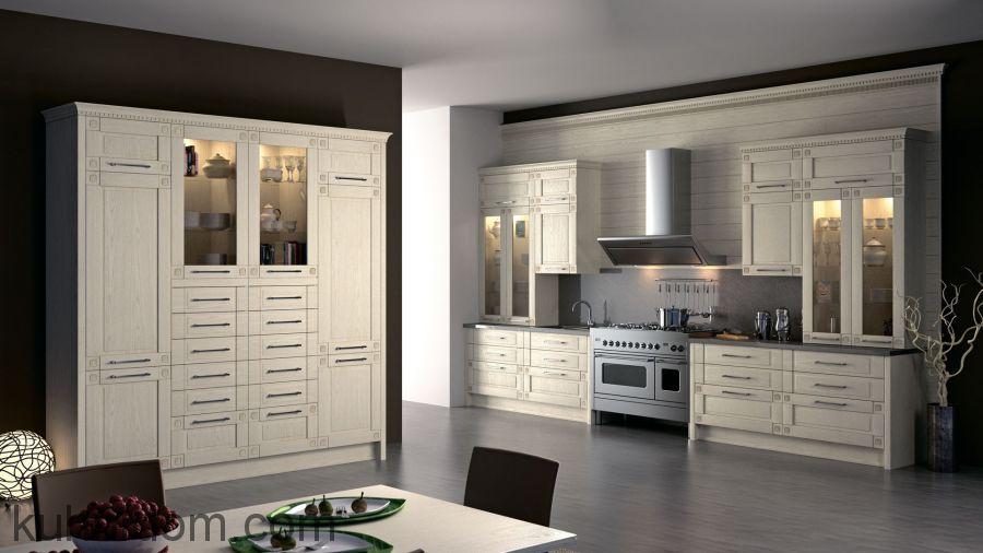 Кухня Флореале Кремона с витринами