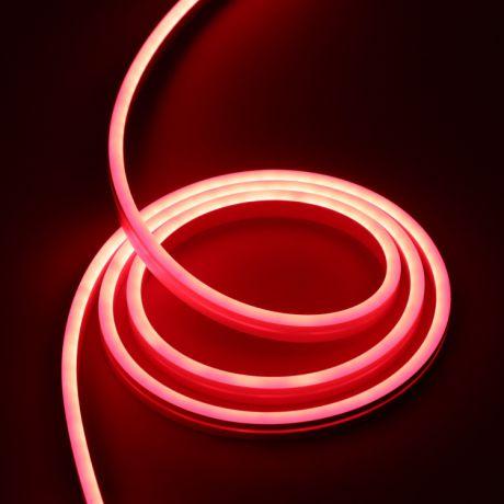 Гибкий неон Красный, 220В, 1,5*2,5 см SMD