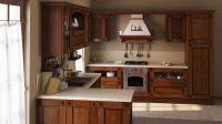 Кухня Флореале Тик с решеткой