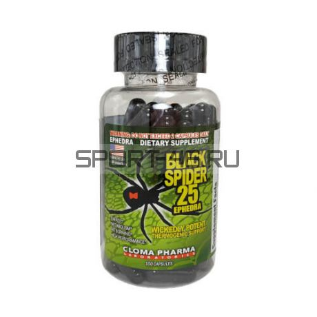 Подарок от 24000р Black Spider (Cloma Pharma) 40 caps