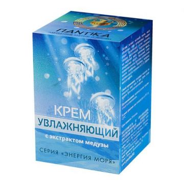 Крем увлажняющий с экстрактом медузы 30 гр