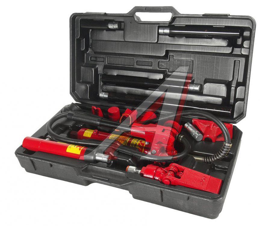 Набор инструментов для кузовных работ гидравлический, усилие 4т, 17 предметов в кейсе JTC