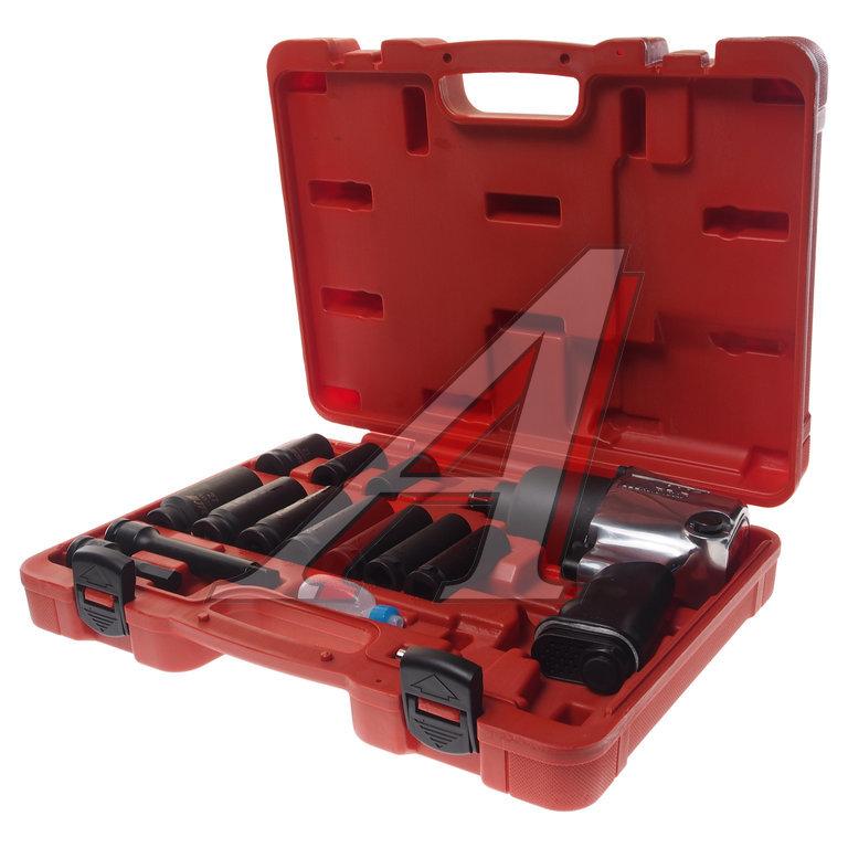 Набор инструментов для шиномонтажа (с пневмогайковертом JTC-3202) 15 предметов в кейсе JTC