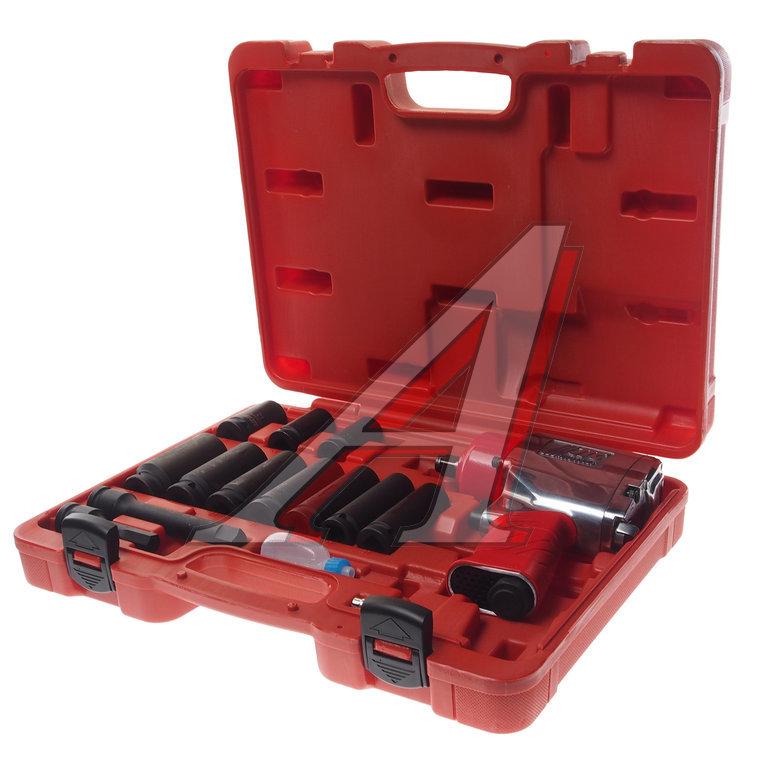 Набор инструментов для шиномонтажа (с пневмогайковертом JTC-5812) 15 предметов в кейсе JTC