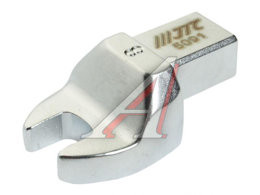 Ключ рожковый 8мм (насадка) для динамометрического ключа JTC-6832,6833 9х12мм JTC