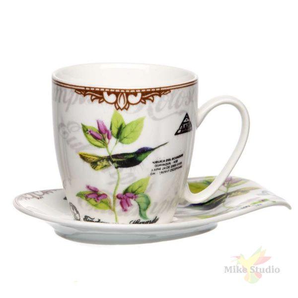 Набор чайный на две персоны (чашка+блюдце) 230 мл