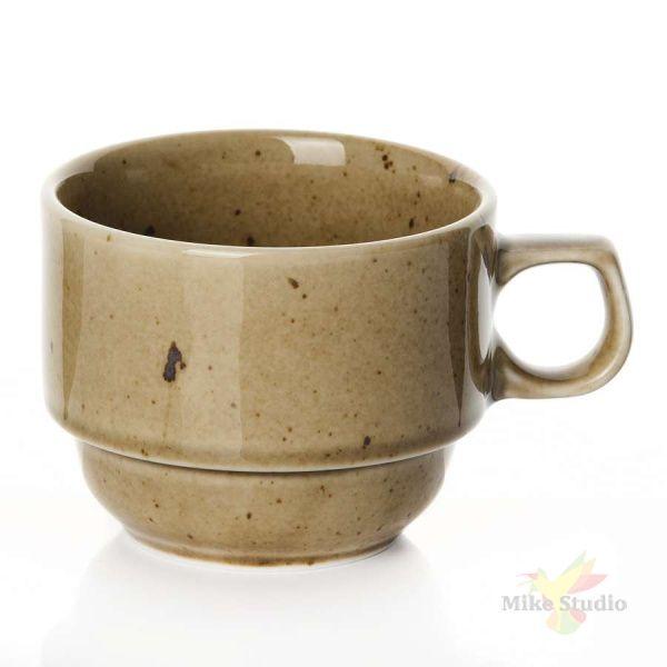 Чашка чайная «Кантри Стайл»; фарфор; 190мл; D=8,H=6см; зелен.