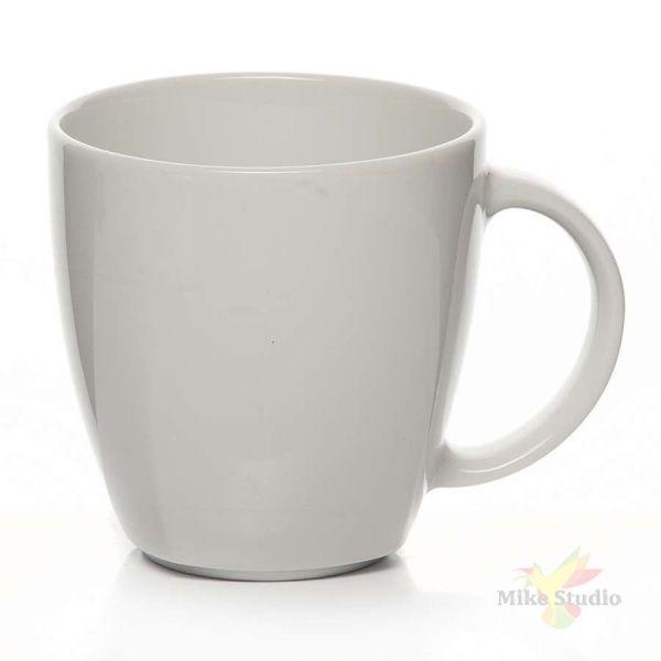 Чашка кофейная «Виктория»; фарфор; 90мл; D=6,H=5.5,L=7.5см; белый