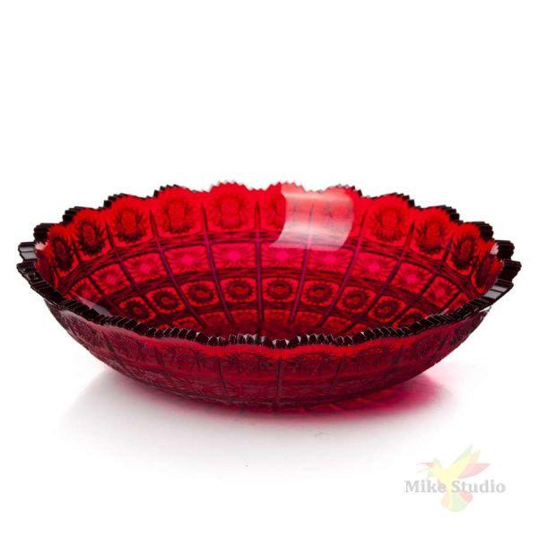 Блюдо Афродита d=275 мм (красный)