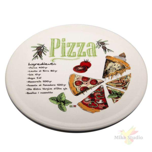 Блюдо для пиццы керамическое 33 см