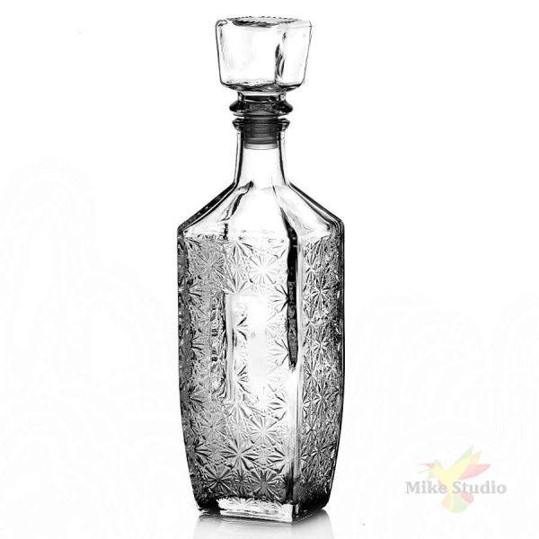 Бутылка из бесцветного стекла Графин Барский 0,5 л
