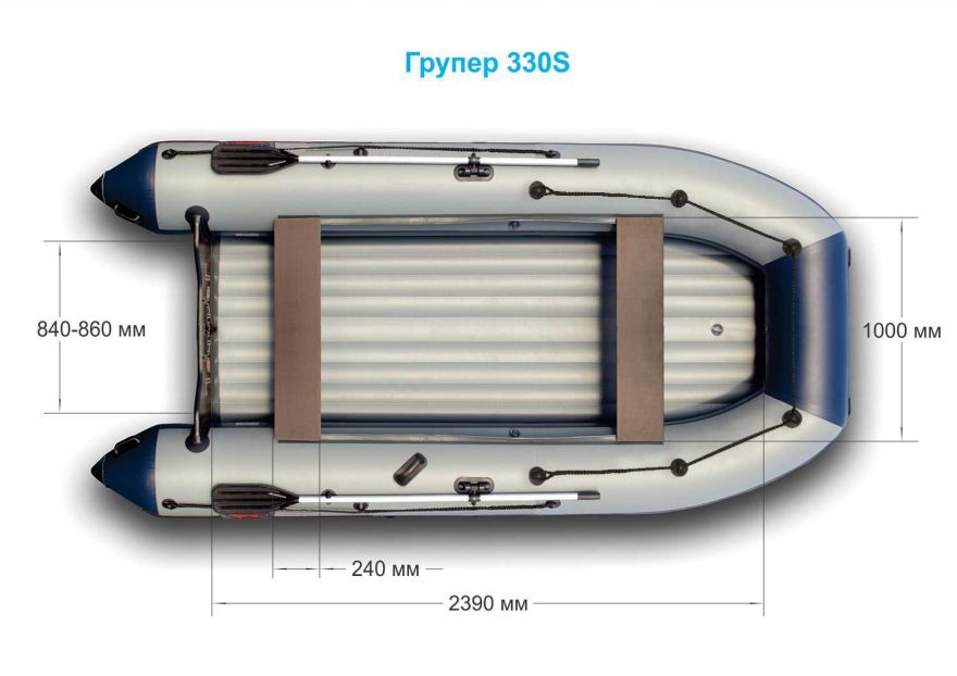 Лодка «Групер» 330S