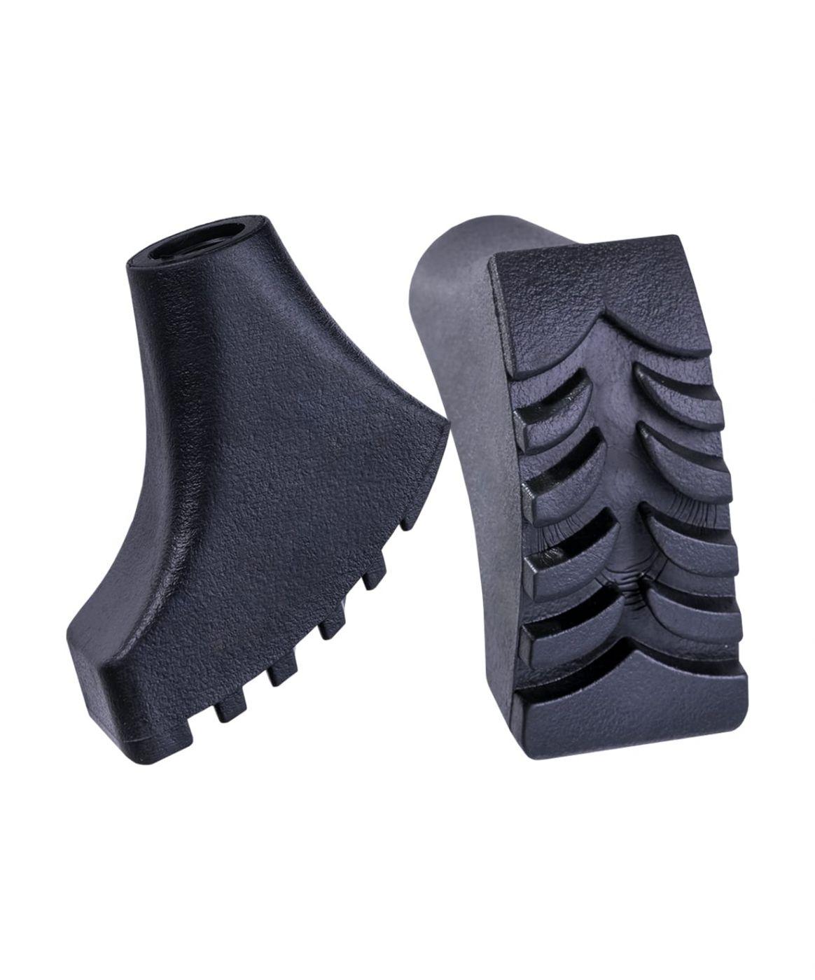 Комплект наконечников для скандинавских палок (черные)
