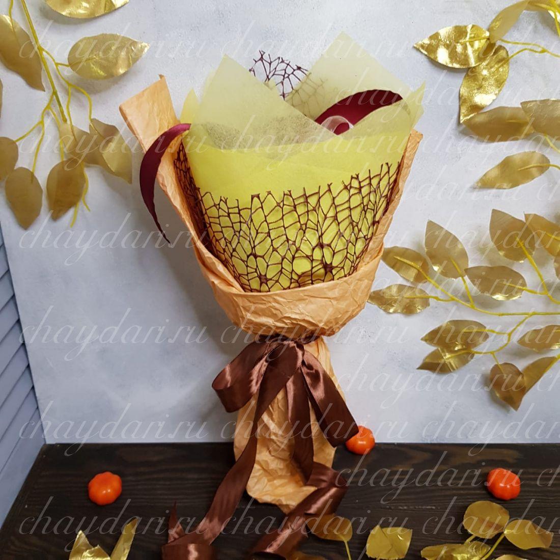 """Букет из чая """"Осеннее настроение"""""""