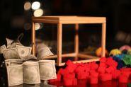 Коробка для появления денег (шаров, цветов и пр) - Illusion Money Box