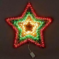 Новогодняя светодиодная фигура-панно Звезда, 50 см
