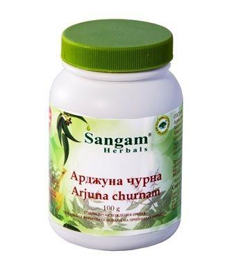 Арджуна чурна | Arjuna churnam | 100 гр | Sangam Herbals