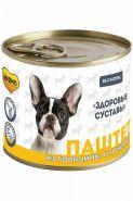 Мнямс «Здоровые суставы» Паштет из говядины и ягненка для собак всех пород, 200 г