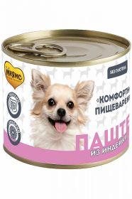 Мнямс «Комфортное пищеварение» Паштет из индейки для собак всех пород, 200 г