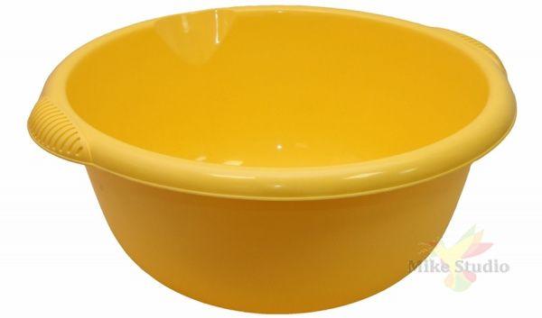 Таз круглый желтый M2506Y